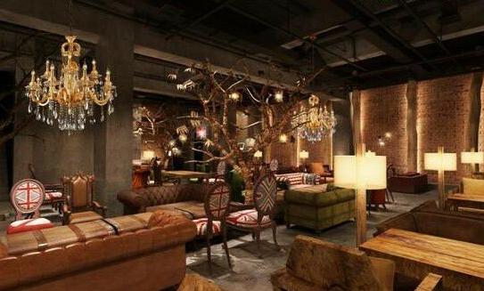 咖啡厅照明设计